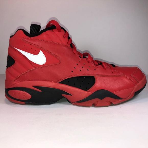 Qs Scottie Pippen Red Sneakers | Poshmark